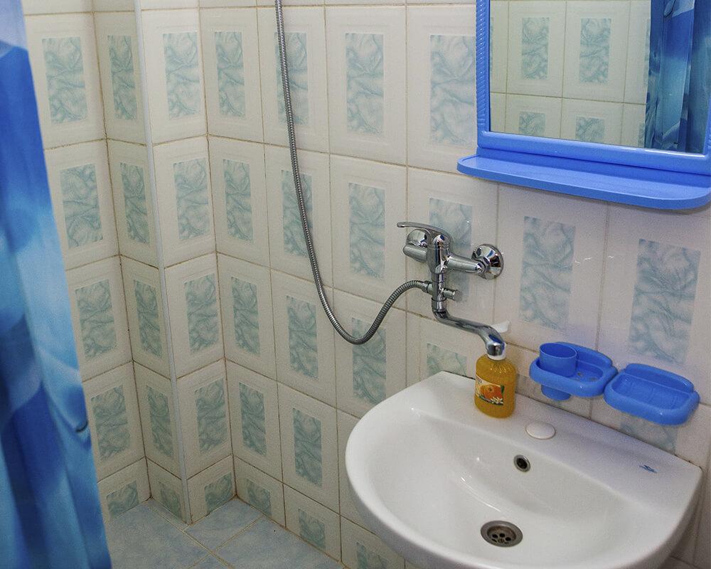 ванная в гостинице Динамо