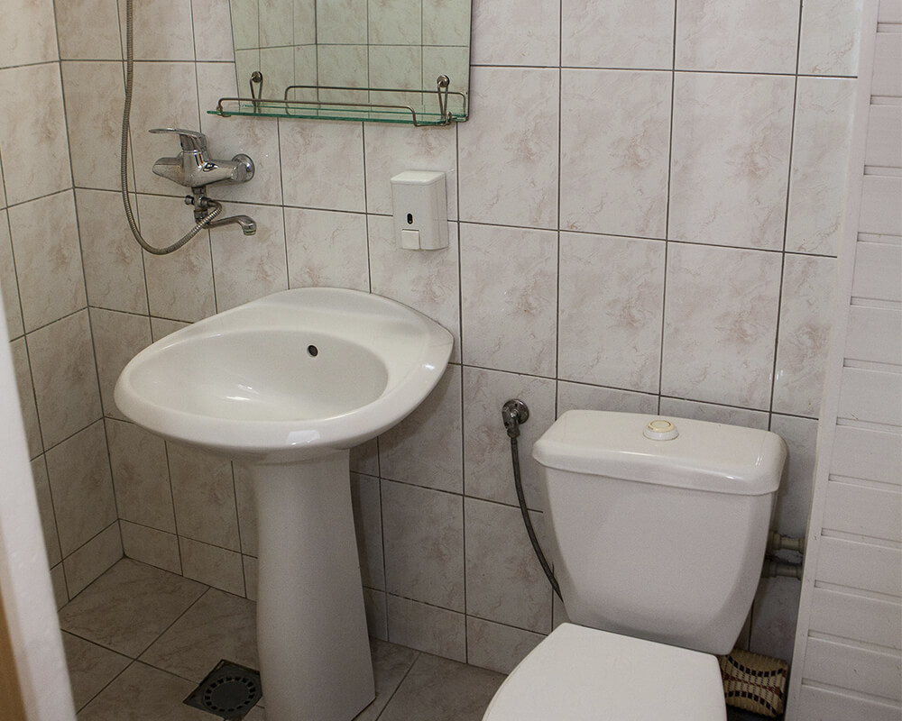 туалет в гостинице Динамо