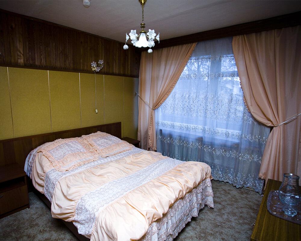 спальня в гостинице Динамо