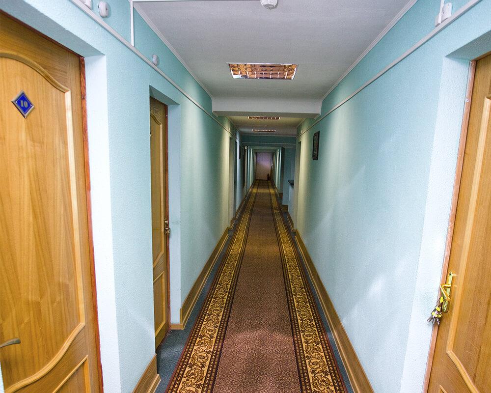 коридор в гостинице Динамо